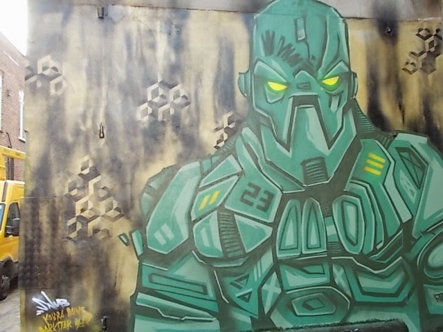 Robot wall painting