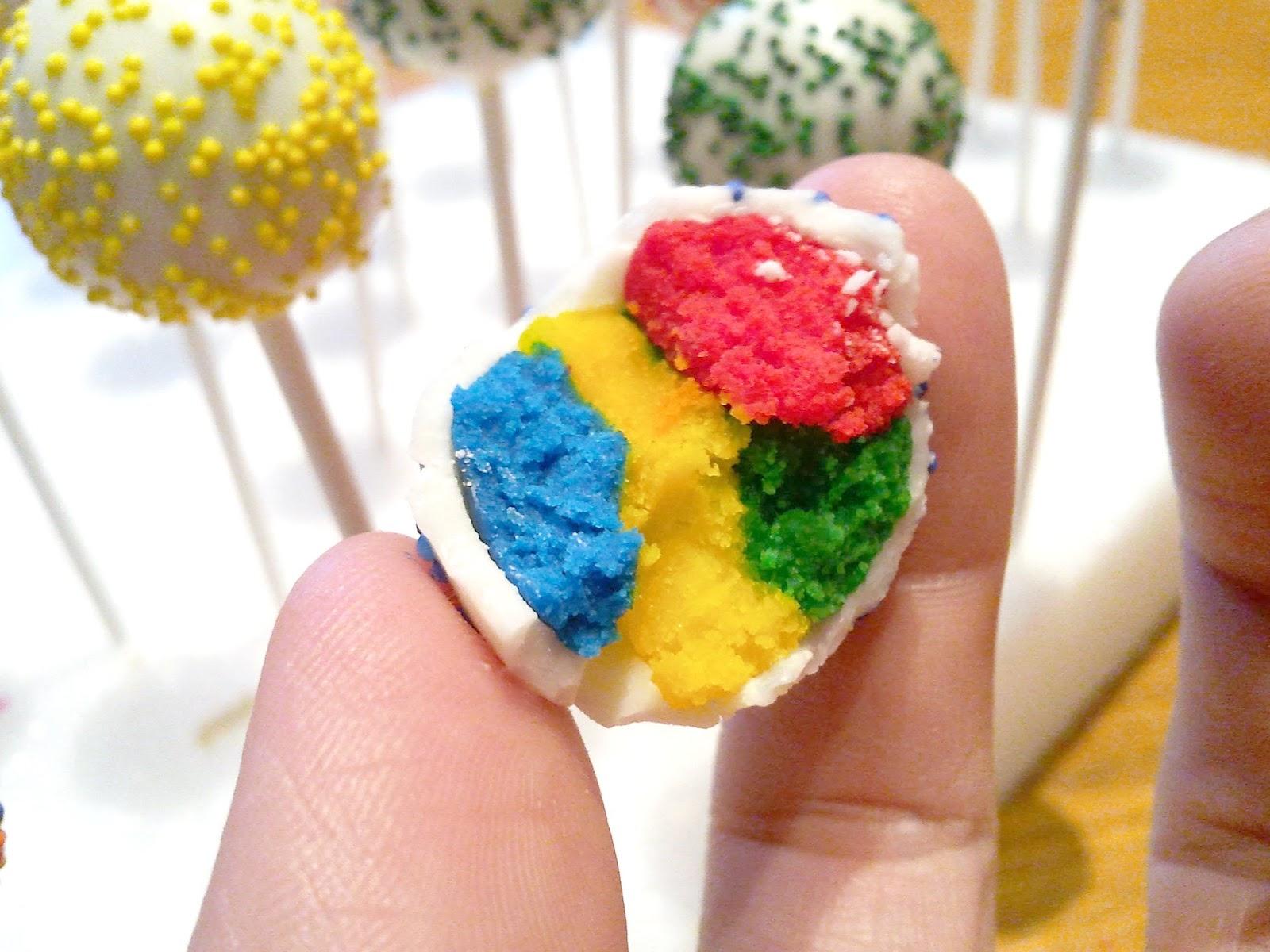 Birthday Cake Cake Pops Tutorial Sitapati