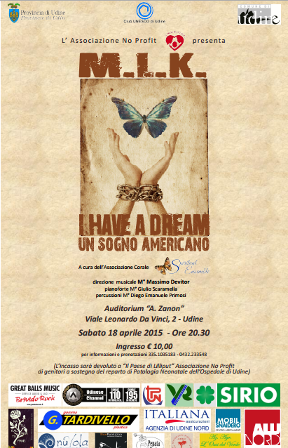 I HAVE A DREAM UN SOGNO AMERICANO