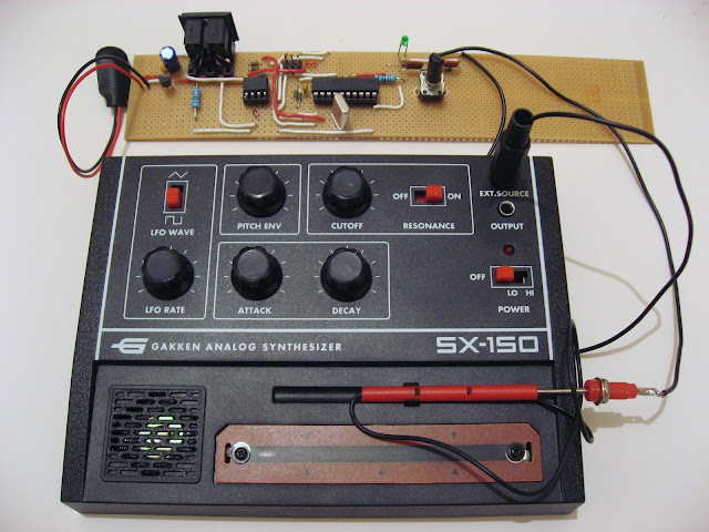 SX-150 MIDI interface prototype
