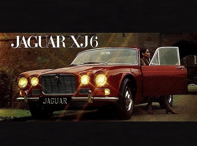 CRUISER447 - Clásicos en escala 1/43: JAGUAR XJ-6 (1968)