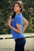 Sneha Tagore Photo shoot in Blue-thumbnail-3