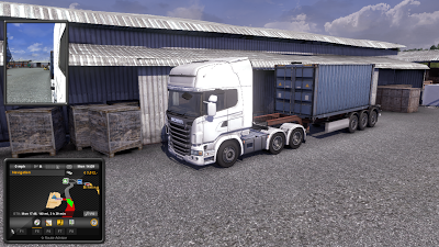 Euro Truck Simulator 2 Scania Truck