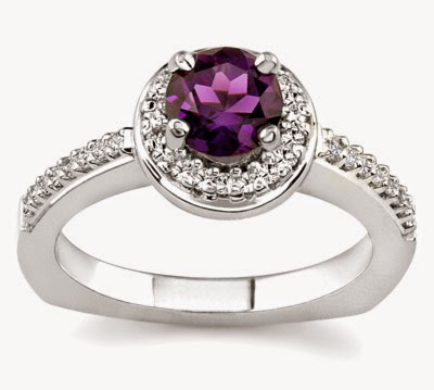most expensive and elegant wedding rings purple - The Most Expensive Wedding Ring