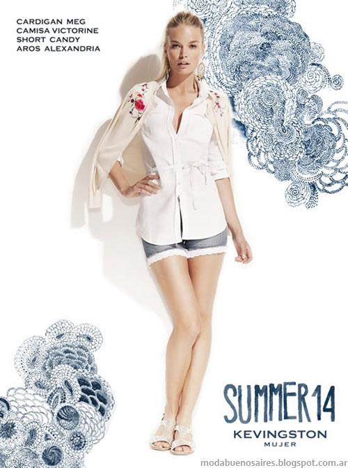 Kevingston Mujer 2014. Moda 2014. Verano 2014 Argentina Moda.