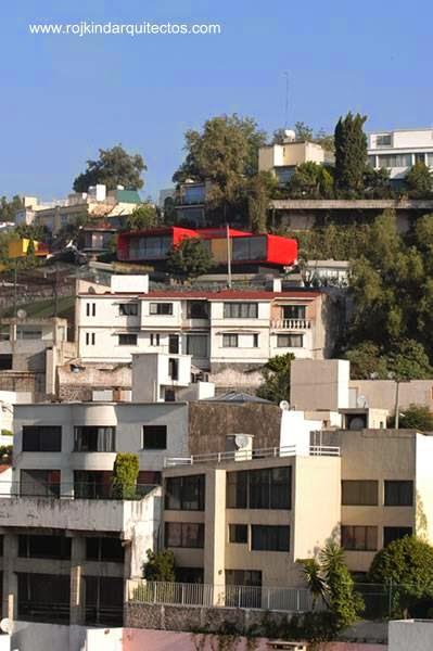 Casa PR34 en su entorno en México