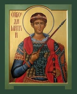 Azi 26 octombrie praznuirea Sfantului Mucenic Dimitrie Izvoratorul de Mir !