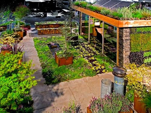 Terrace Garden Designing Ideas - Freshnist Design
