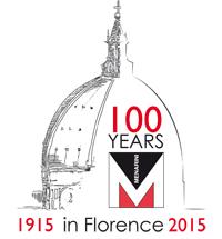 Logo Menarini 100 anni