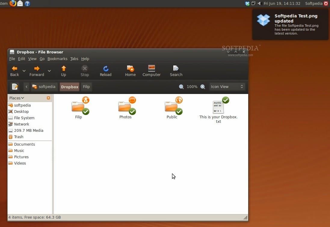 Cara Install Dropbox Pada Ubuntu 13.04