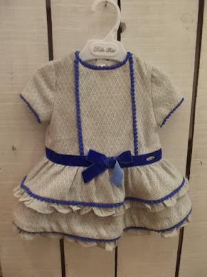vestido niña volantes dolce petit