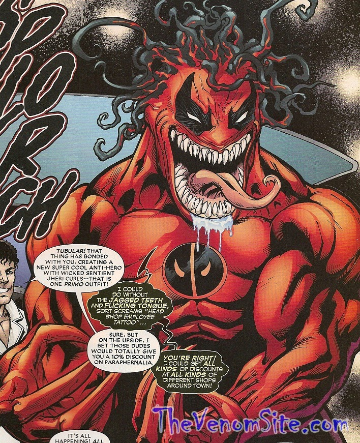 Relive Venompool's madness in the digital copy of What If…? Venom Possessed Deadpool on the Marvel Comics App