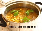 Sójový guláš - recept