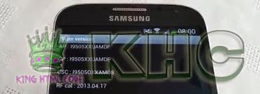 Kode Rahasia Samsusng Galaxy S4, Kumpulan Kode Rahasia Samsung S4