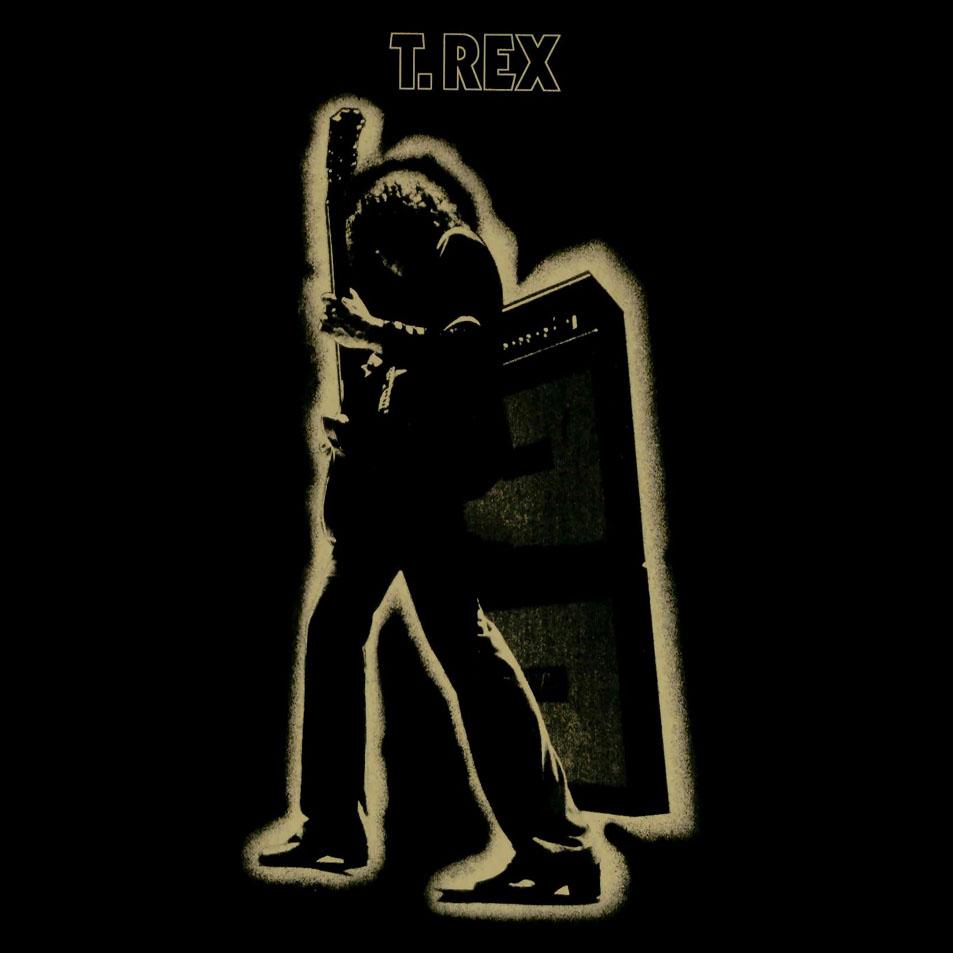 T-REX ELECTRIC WARRIOR BLACK SHIRT marc bolan glam Trex cd vinyl