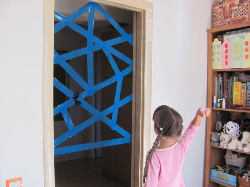 развивающее занятие для детей о пауках и паутине