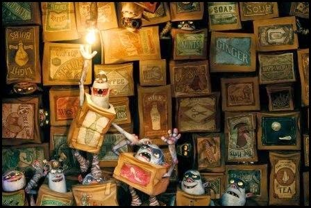 'Los Boxtrolls' (Graham Annable y Anthony Stacchi, 2014)