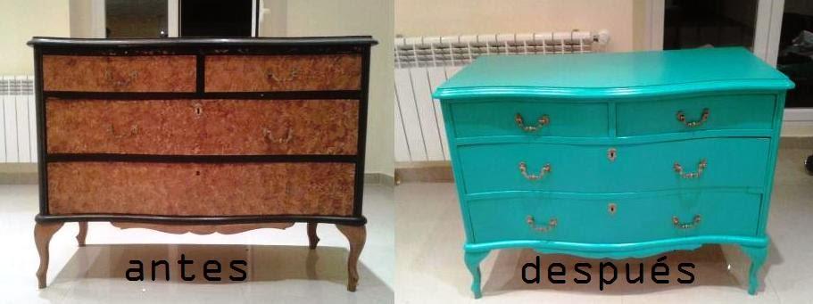 Lo interesante esque conseguimos piezas nicas no habr for Muebles antiguos restaurados antes y despues