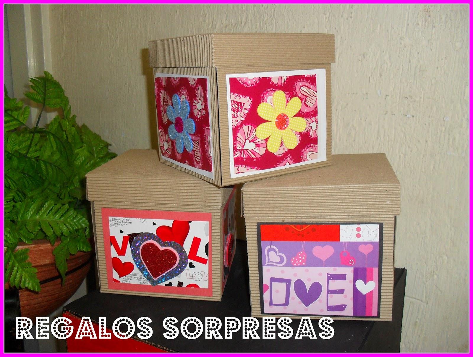 Regalos sorpresas cajas explosivas - Cajas grandes de carton decoradas ...