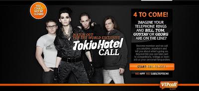 Tokio Hotel VIP Call  O.O