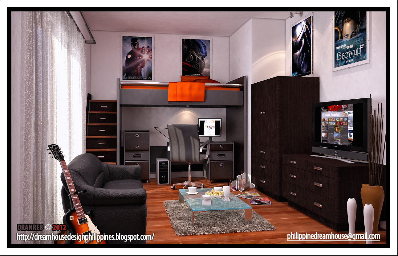 Boy 39 s room house design Dream room design