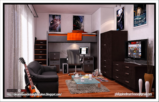 Philippine Dream House Design Boy 39 S Room