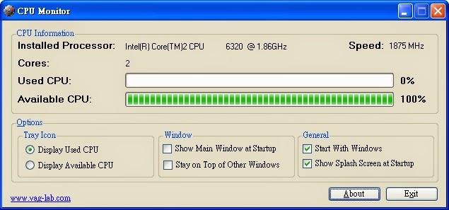 CPU Monitor |CPU檢測