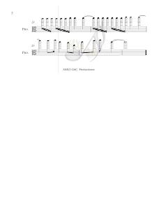 2 Balada para Adelina Partitura en clave de Do en 3º para viola