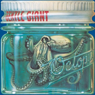 Gentle Giant's Octopus - U.S. artwork