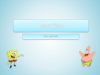 Spongebob patrick powerpoint templates for Spongebob powerpoint template
