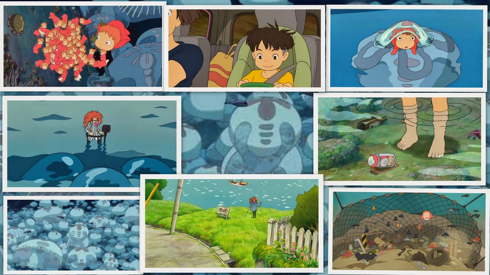 Ponyo: On the Cliff by the Sea (2008)