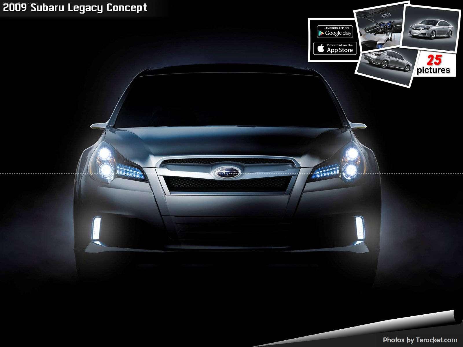 Hình ảnh xe ô tô Subaru Legacy Concept 2009 & nội ngoại thất