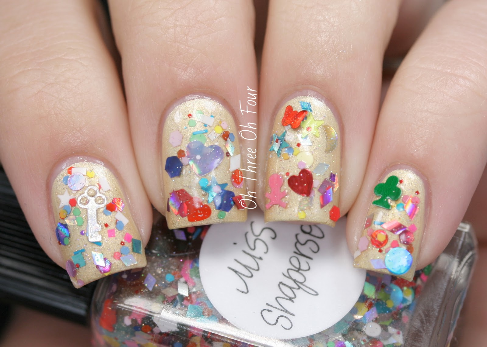 Lynnderella Miss Shaperson swatch