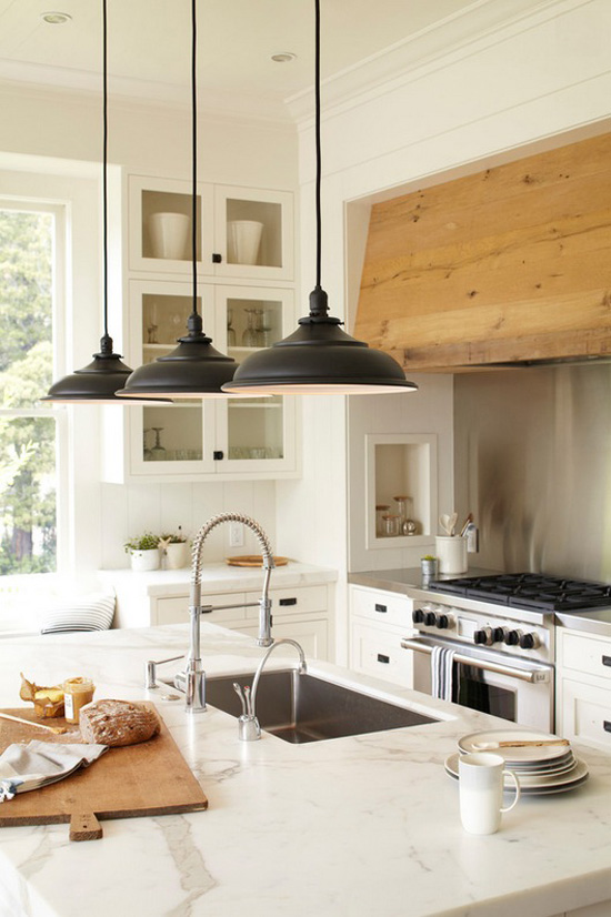 5 kitchen island dreams my paradissi Best pendant lights for white kitchen