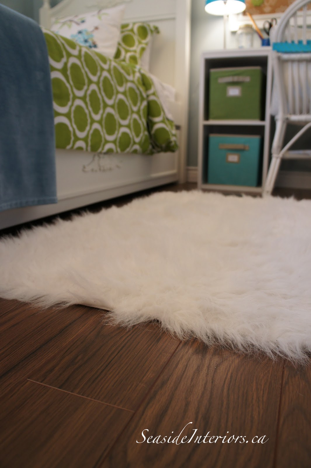 Another Walmart Find.....when My Daughter Saw This Faux Fur Rug