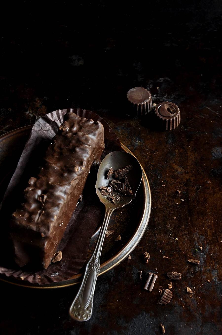 Słodycze rzucałam, ale zaraz wracałam do tego zła wcielonego w czekoladzie.