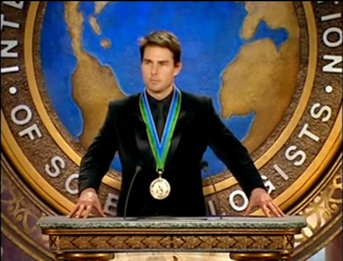 Tom cruise scientology medal