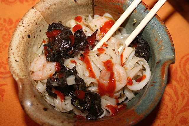 Asian Seafood & Mushrooms