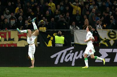 AEK Athens 1 - 3 Lokomotiv Moscow (1)
