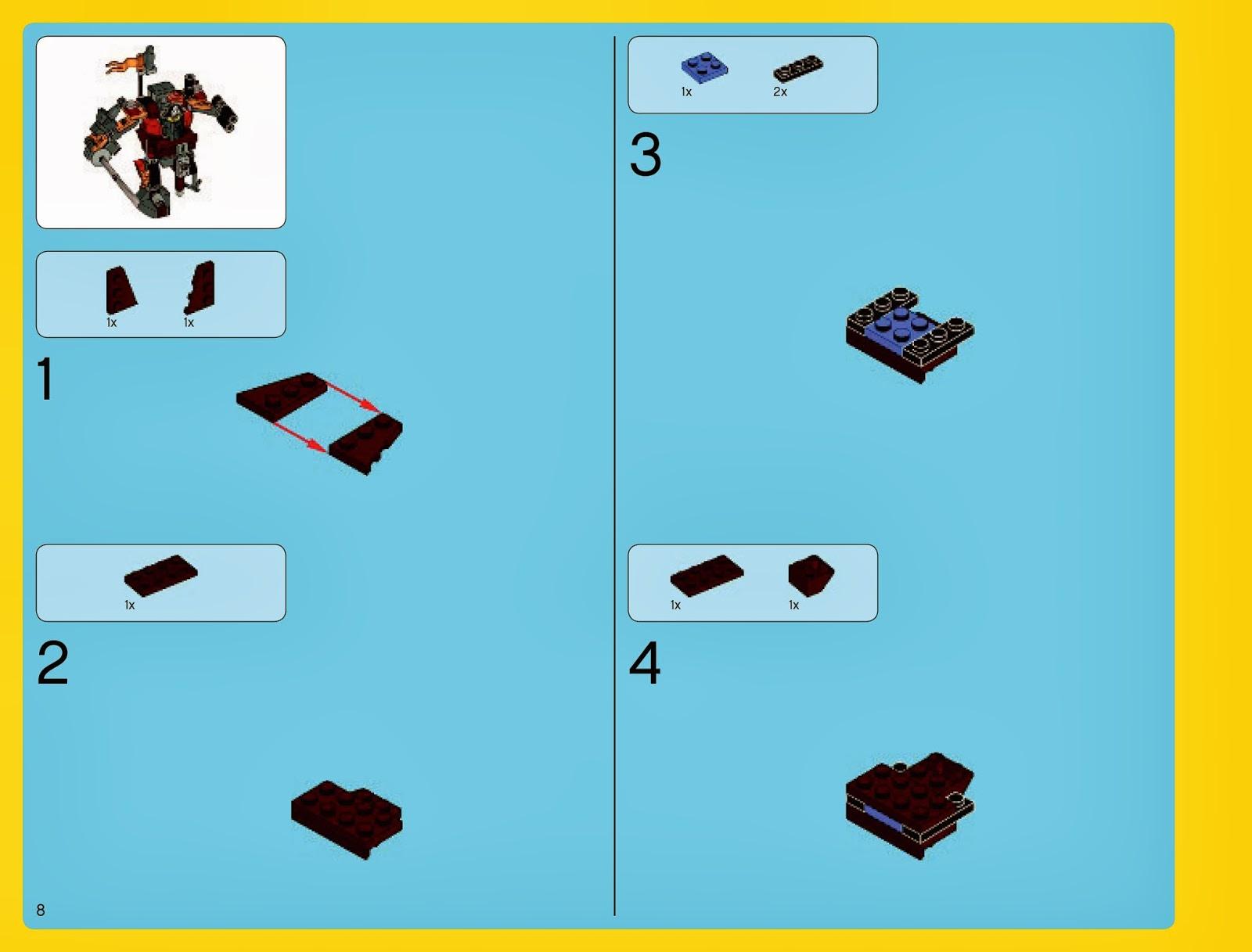 Techfleet Spot Mini Metalbeard Build Instructions 70810