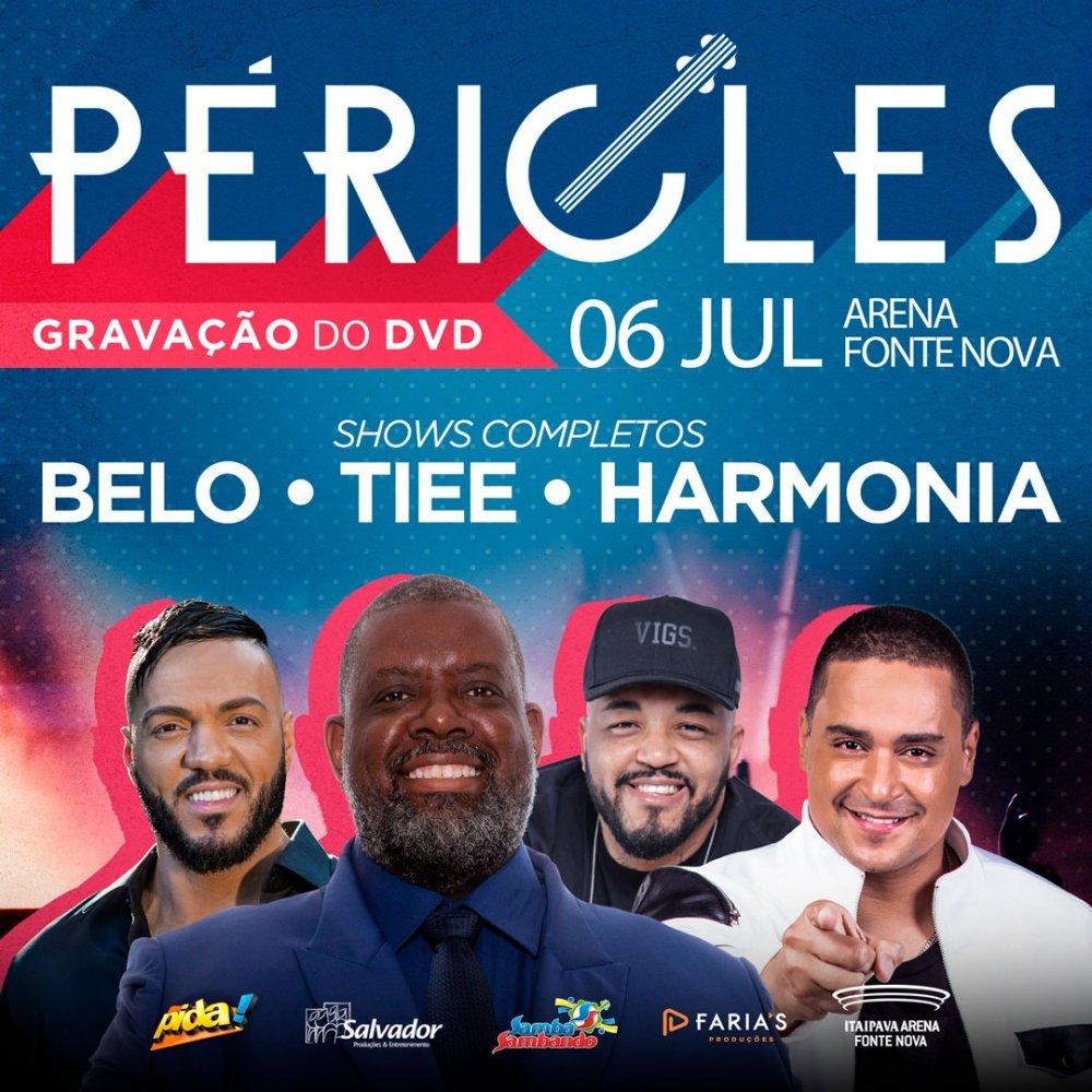 GRAVAÇÃO DVD PÉRICLES