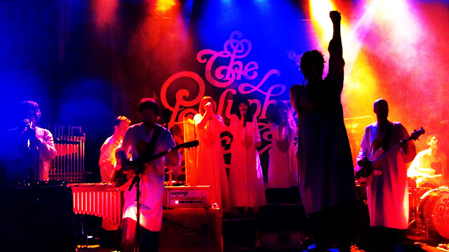 A psychedelic Denver concert by Polyphonic Spree at Bluebird Theater.