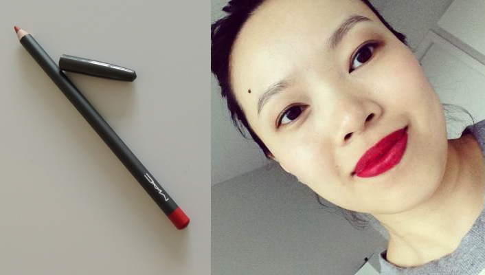 MAC Lip Pencil in 'Cherry'