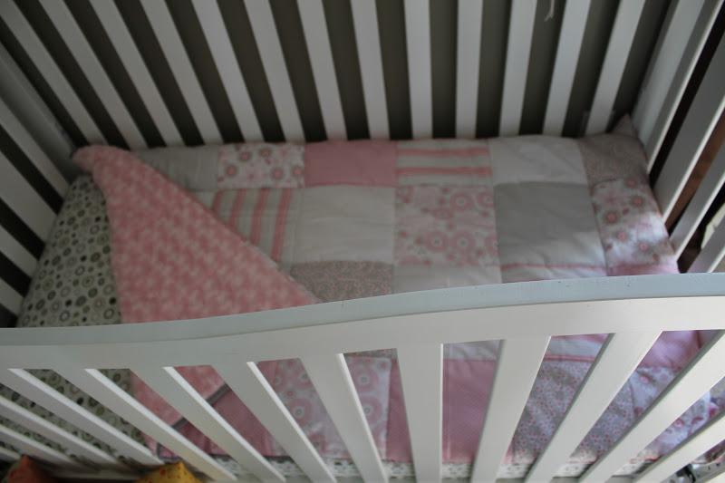 Awaiting Ada Fat Quarter Friday Crib Quilt Or Toddler