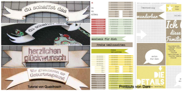 Material der Woche | DIY Banner und Printouts | www.danipeuss.de