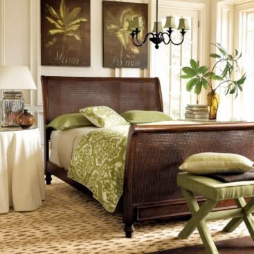 Best beds and bedrooms interior designs green and brown for Green and brown bedroom designs