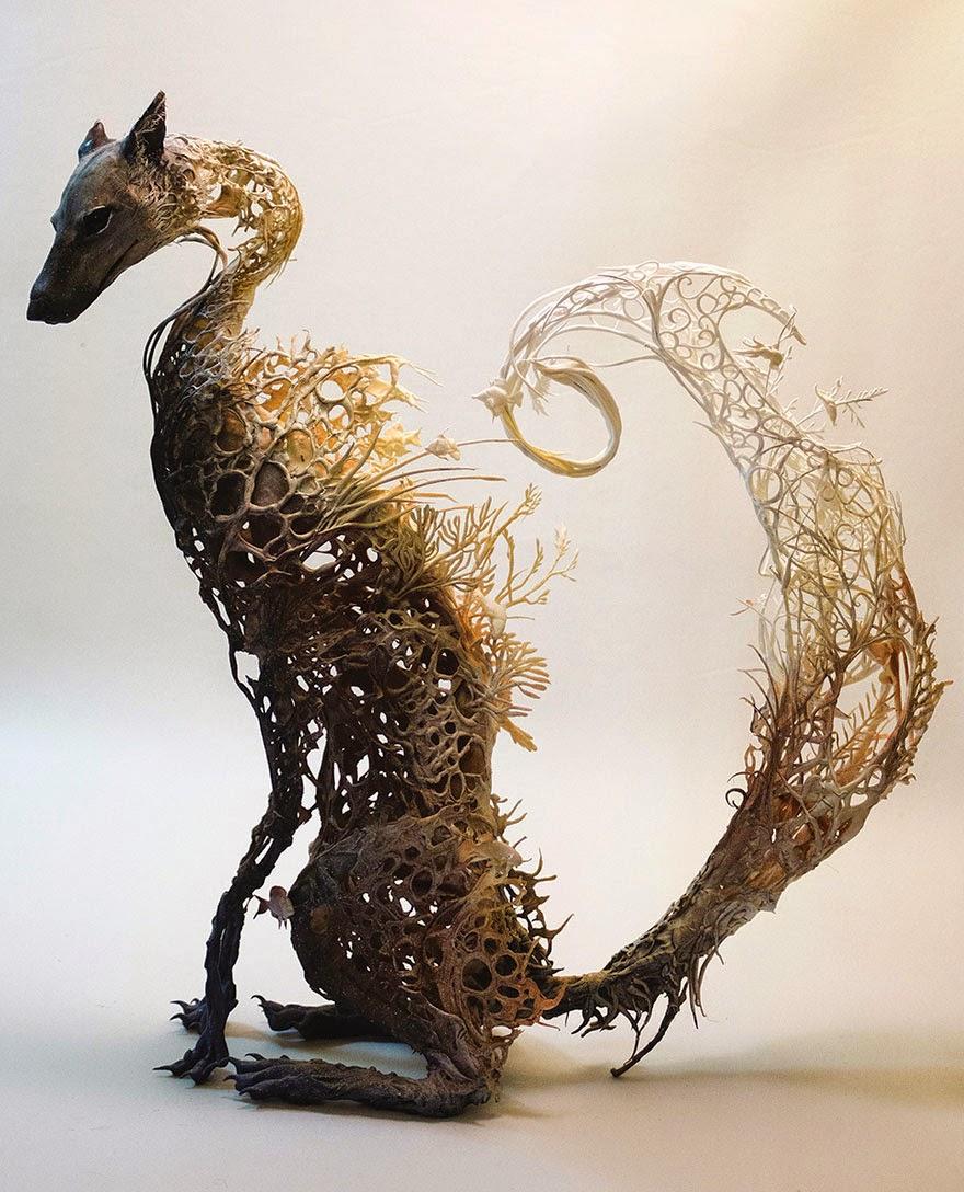 Surreal Sculptures by Ellen Jewett-1