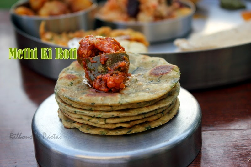 how to make methi ki roti