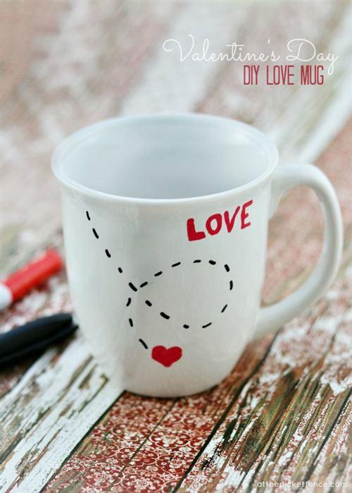 Romantic Valentine's Day Craft Ideas For Boyfriends