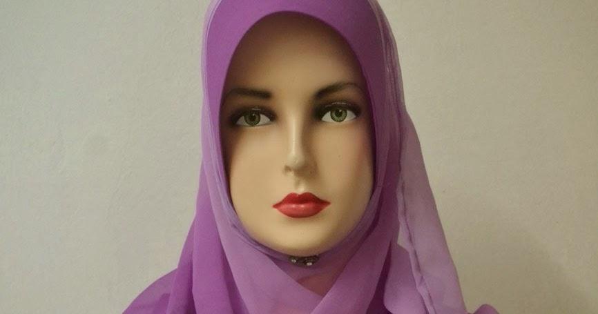 bagaimana pakai tudung labuh nash fesyen tempahan shawl ...